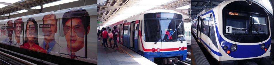 バンコク市内路線図情報BTS・MRT...
